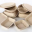 Disposable Biodegradable Compostable Paper Lunch Box